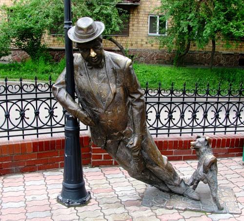 Памятник пьянице