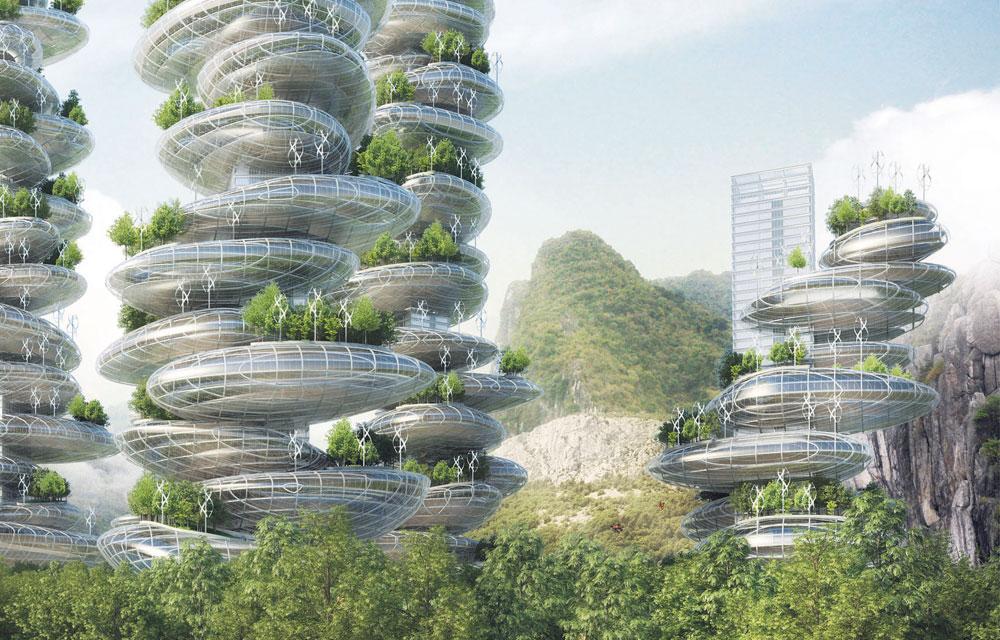 Большой городо, Китай