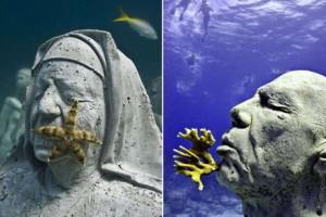 Музей-подводных-скульптур-Канкун