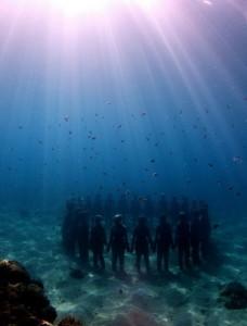 Музей-подводных-скульптур-Канкун1