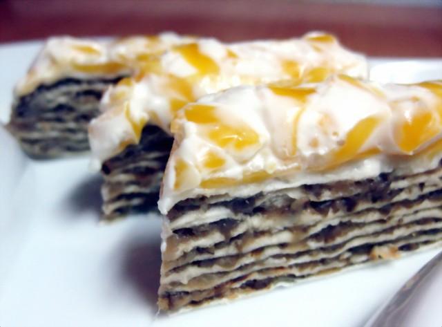 торт из лаваша
