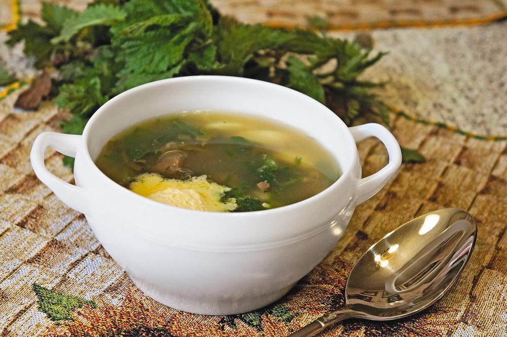 суп из ламинарии