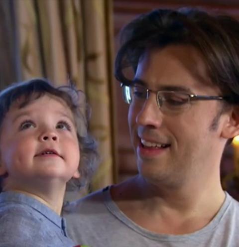 галкин с сыном