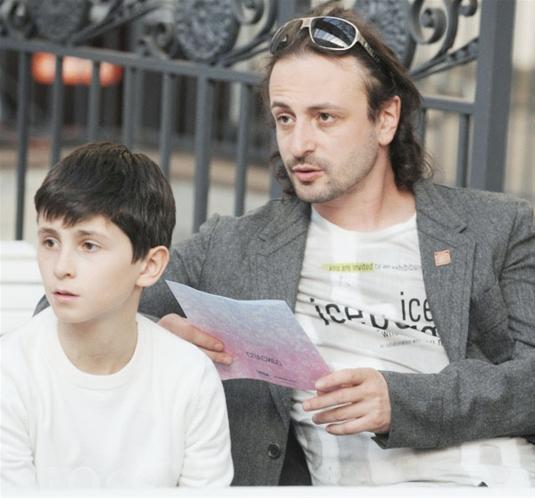 авербух с сыном