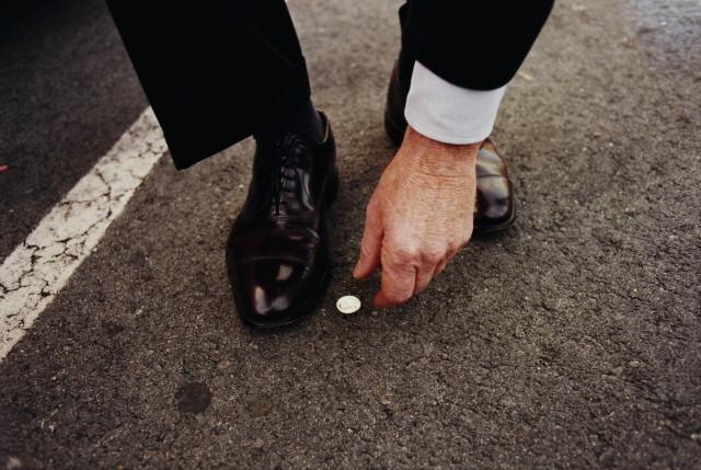 Монетка на дороге