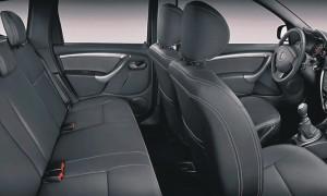 Renault DUSTER задние сиденья