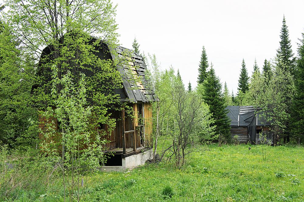 Заброшенные дома и хозяйства