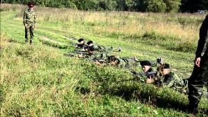 кадеты полевые учения