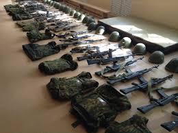 оружие в кадетке