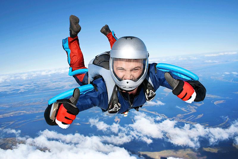 Прыжки с парашютом-3