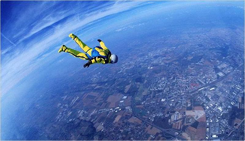 Прыжки с парашютом-4