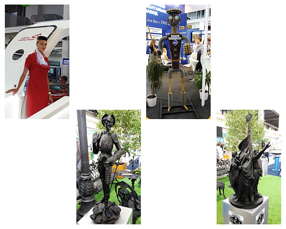 Лица и скульптуры