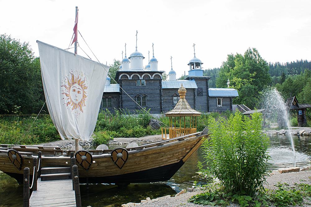 Этнографический музей истории реки Чусовая. Фото 2.