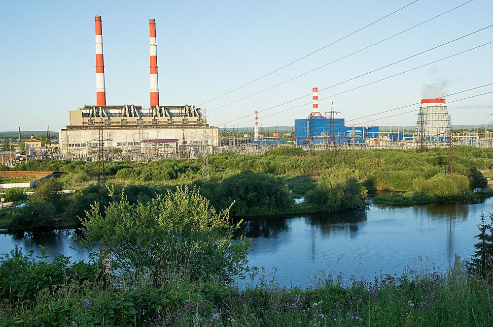 ГРЭС на реке Яйва