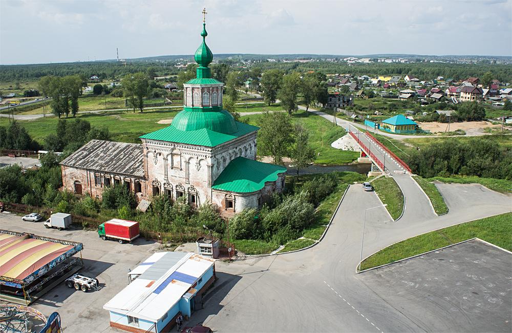 Соликамск - Воскресенская церковь