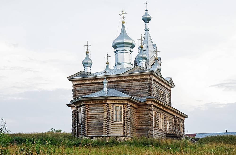 Чердынь - на холме Колвы