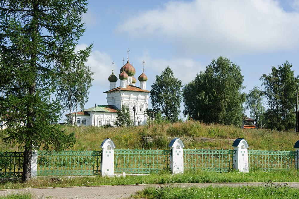 Ныроб. Никольская церковь.