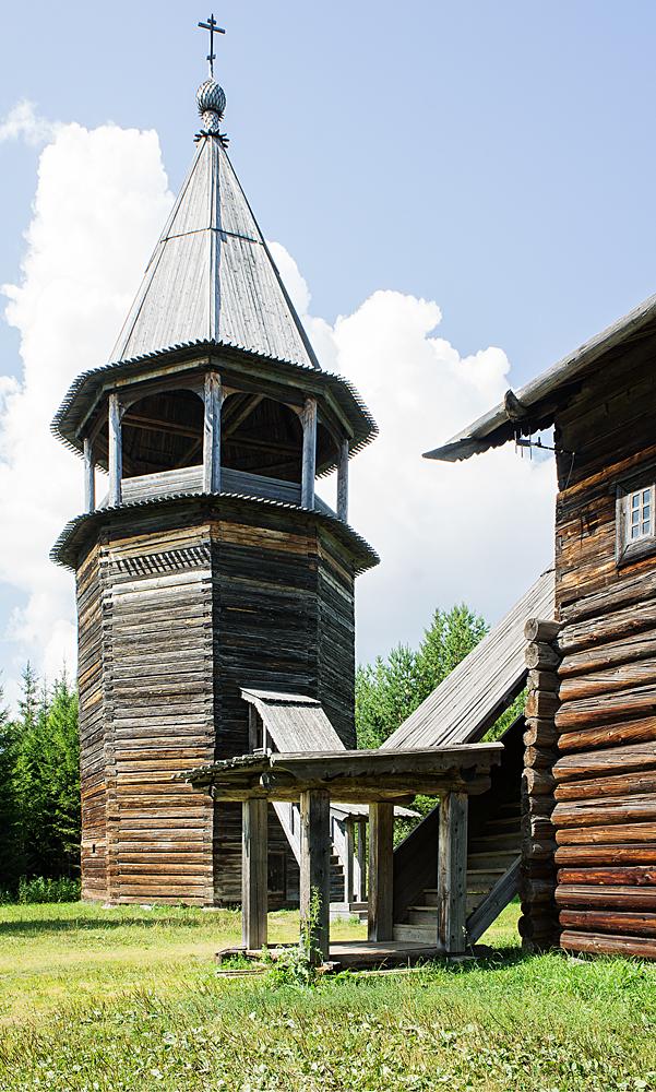 Колокольня в Хохловке