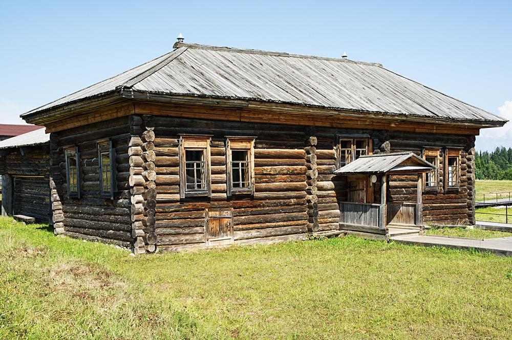 Усадьба русского крестьянина начала 20-го века