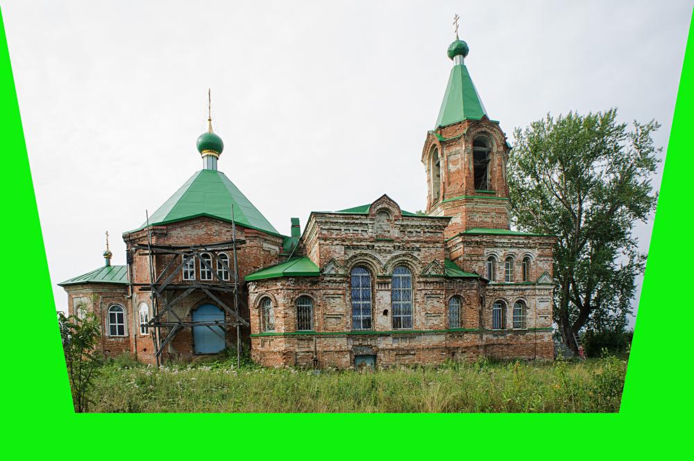 Храм Святой Троицы в деревне Шиловка