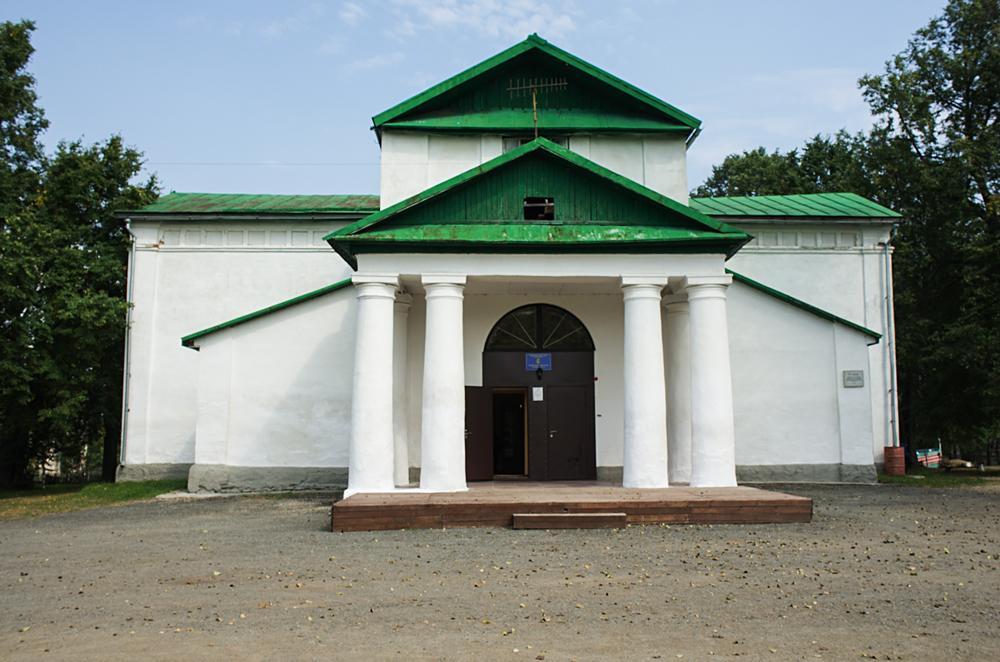 Минералогический музей в Мурзинке