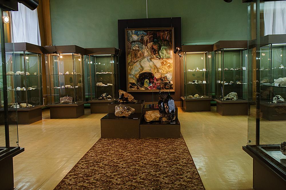 Минералогия музея