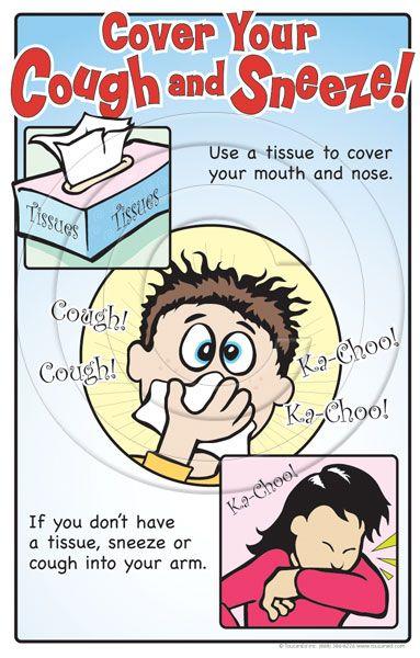 Рисунок к правилам гигиены носа.