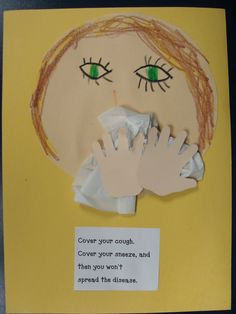 Рисунок к правилам гигиены органов обоняния