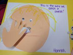 Фото плаката для 3 класса о гигиене носа.