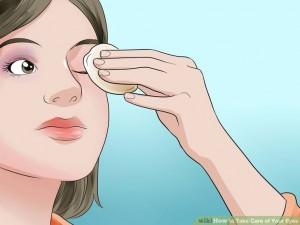 Условный знак к правилам гигиены глаз
