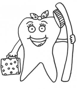 плакат о правилах гигиены рта - 3