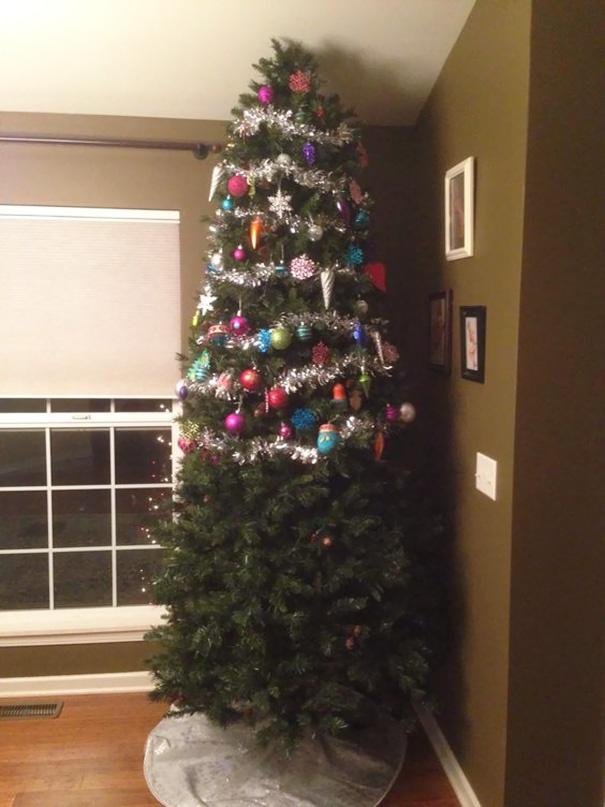 половина елки