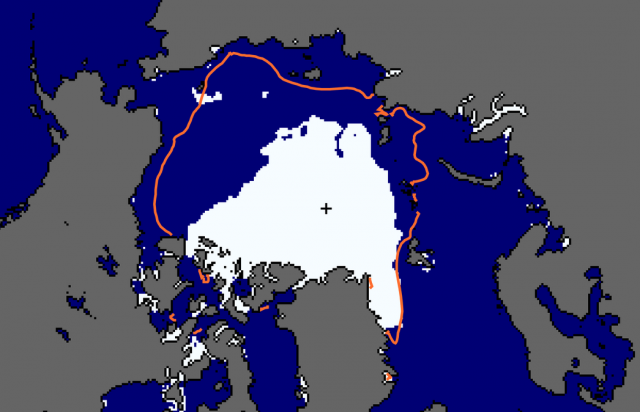 Arctic sea-ice extent