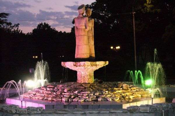 фонтан гудаута