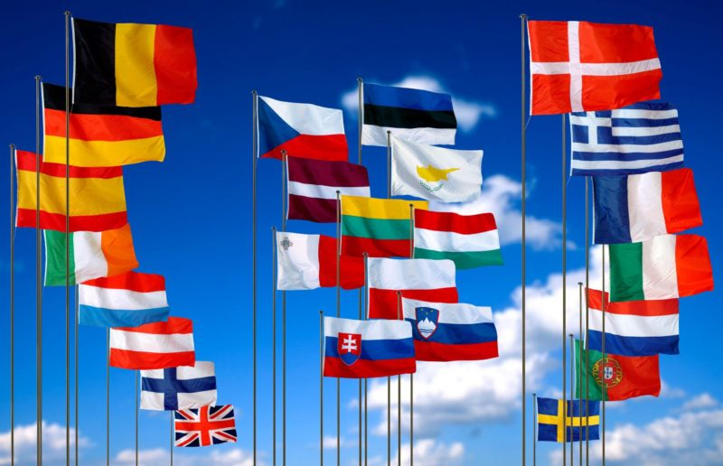 страны в составе Евросоюза