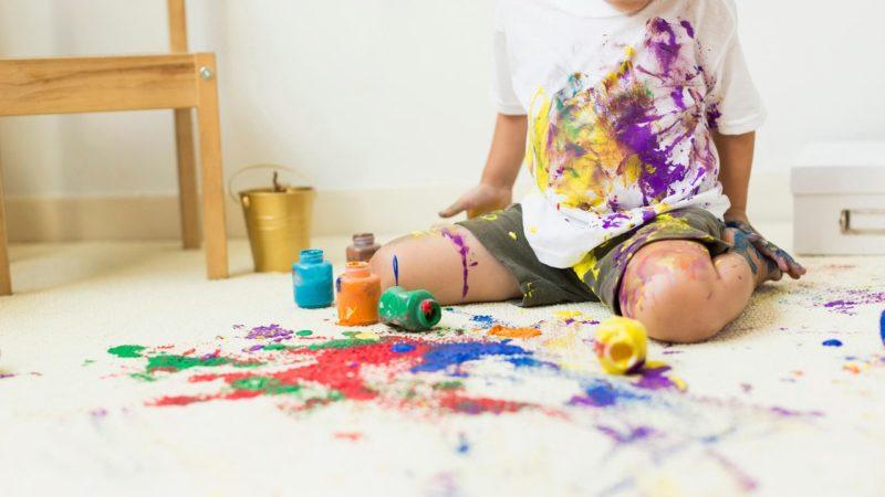 краска на одежде