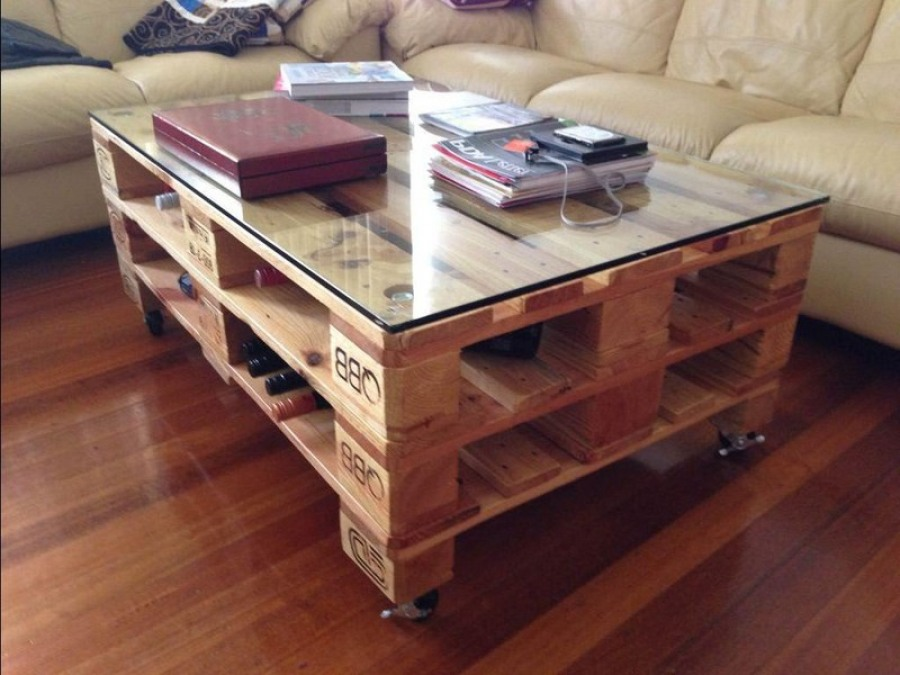 Журнальный столик  из дерева - как его сделать самому?
