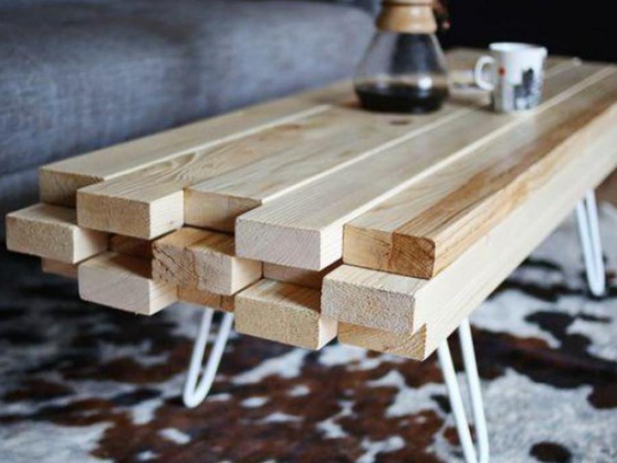 Необычный столик для вашей гостиной