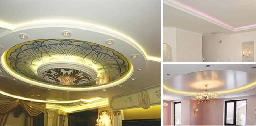 Декорируем потолки - варианты решений и полезные советы