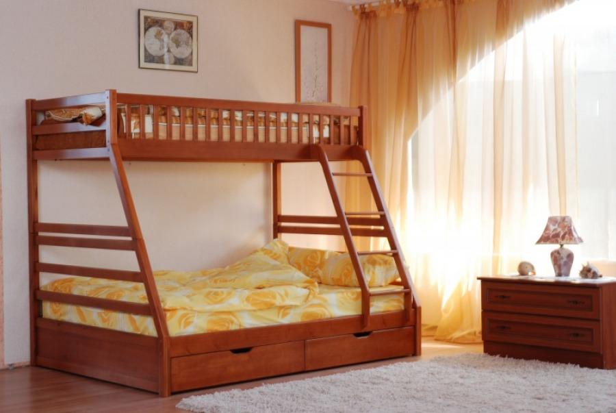 Двухъярусные кровати для детей бывают очень разными