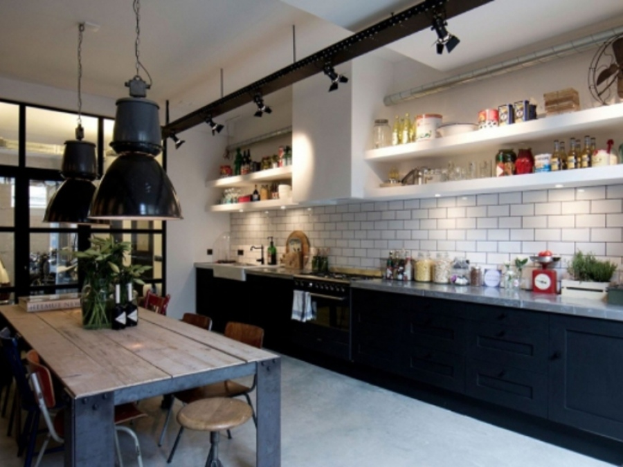 Оформления кухни в современном стиле