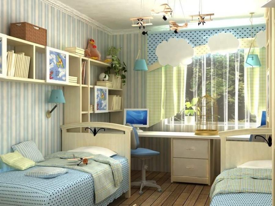 Как обустроить комнату для детей