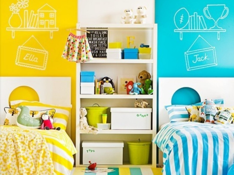 Детская комната для разнополых деток