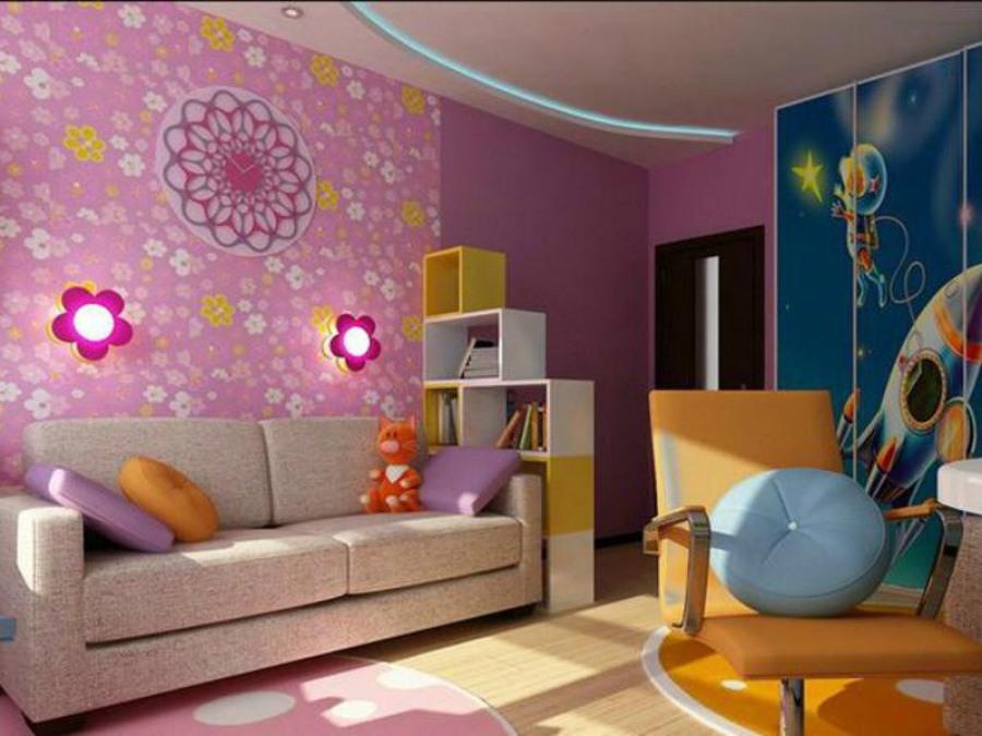 Современный дизайн комнаты для детей