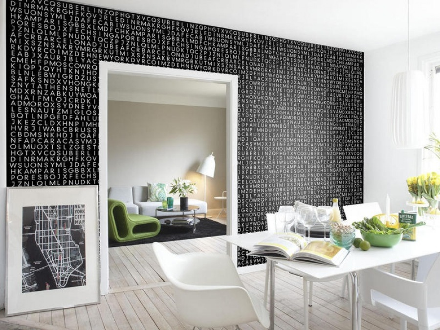 Оформляем квартиру стильными обоями