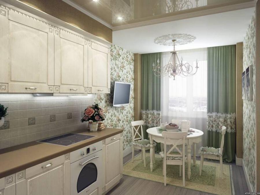 Как правильно отделать кухню в стиле прованс