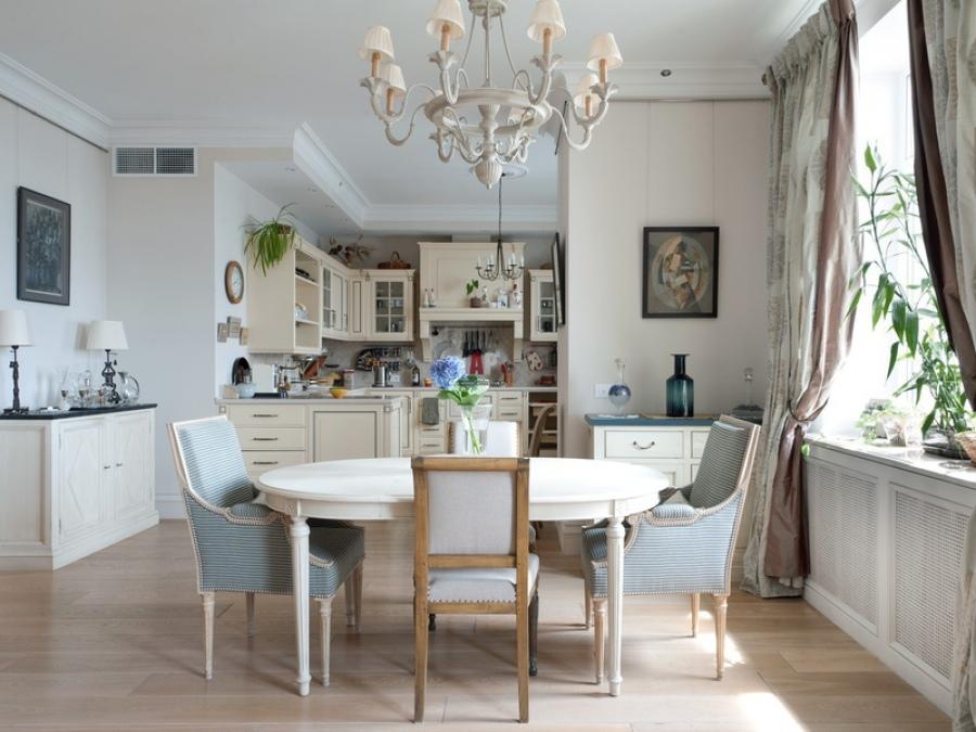 Галерея кухонь в стиле прованс