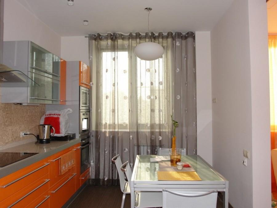 Виды современных кухонных штор