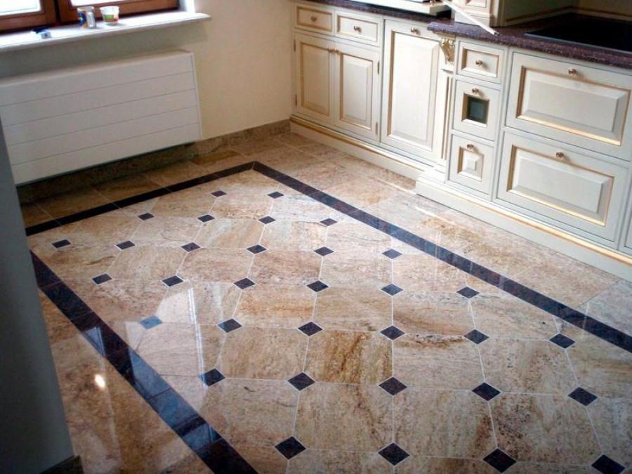 Кухонный фартук из плитки дизайн