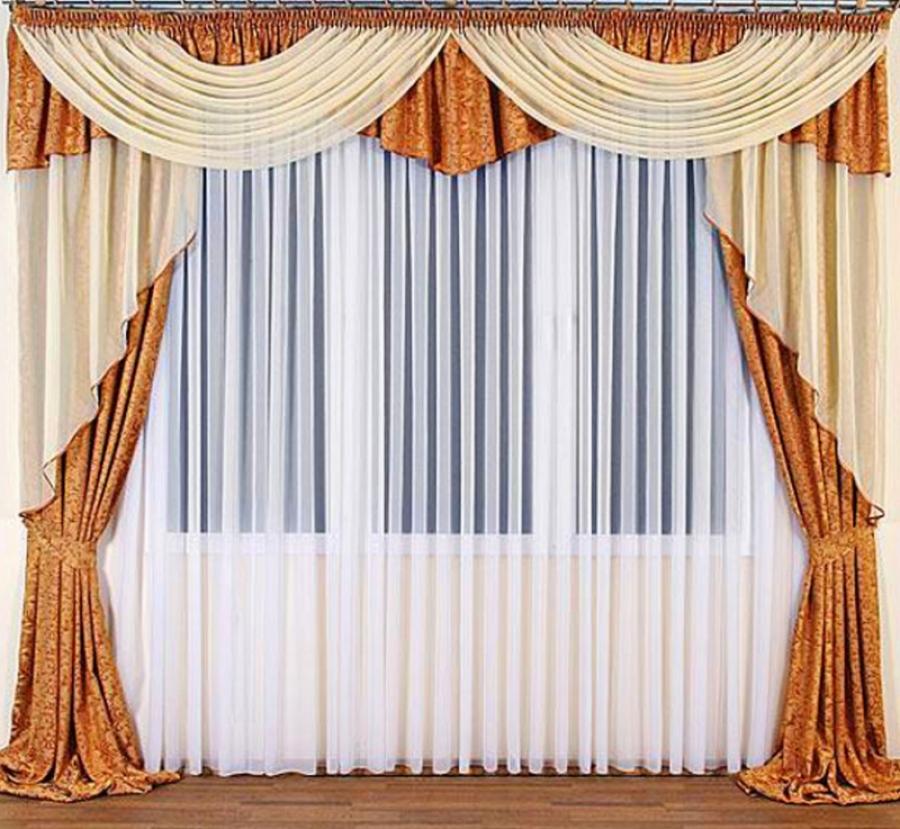 Дизайнерские шторы могут быть очень разными.